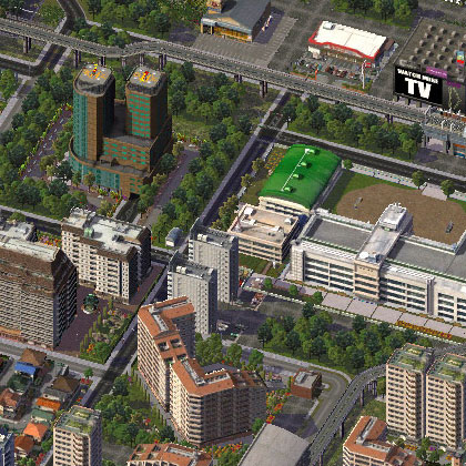 how to stop radioactivity in simcity
